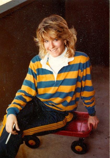 1982.  My boyfriend took this photo.